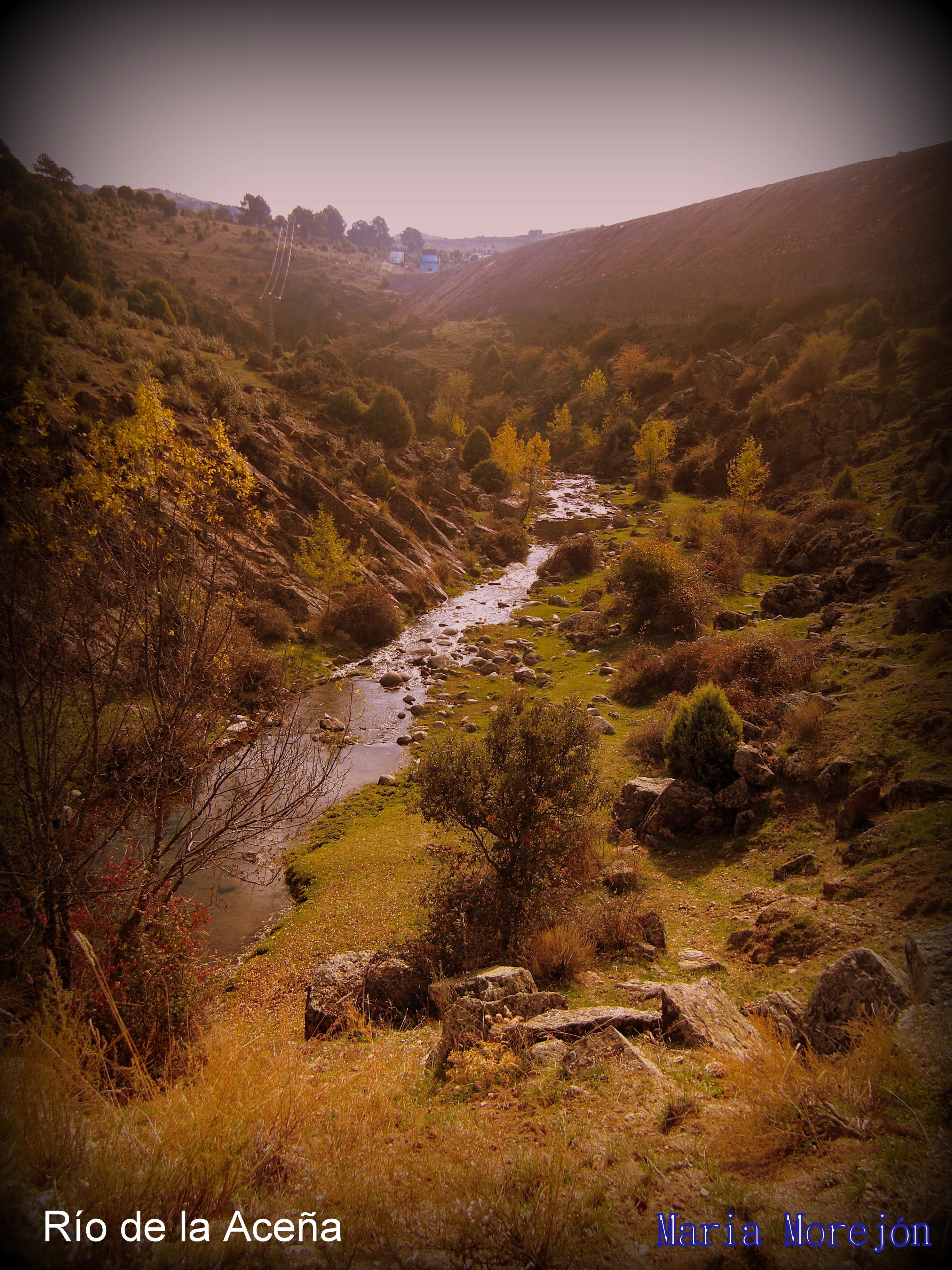 El río de la Aceña