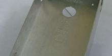Caja de empotrar para placa de calle. Portero automático