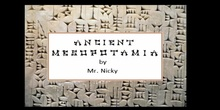1º ESO/ANCIENT MESOPOTAMIA SONG