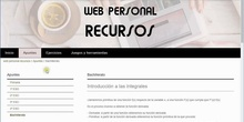 Curso web personal: Mapa web