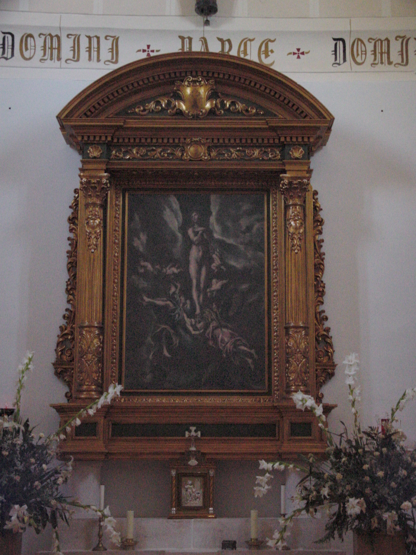 Altar de iglesia en Titulcia