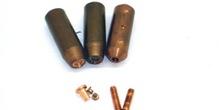 Electrodos para soldadura de tornillos y remaches