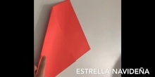 ESTRELLA NAVIDEÑA ORIGAMI