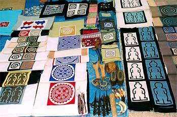Diseño laosiano en textiles, Laos