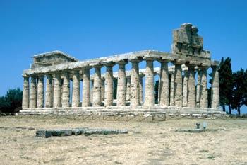 Templo de Ceres, Paestum, Italia