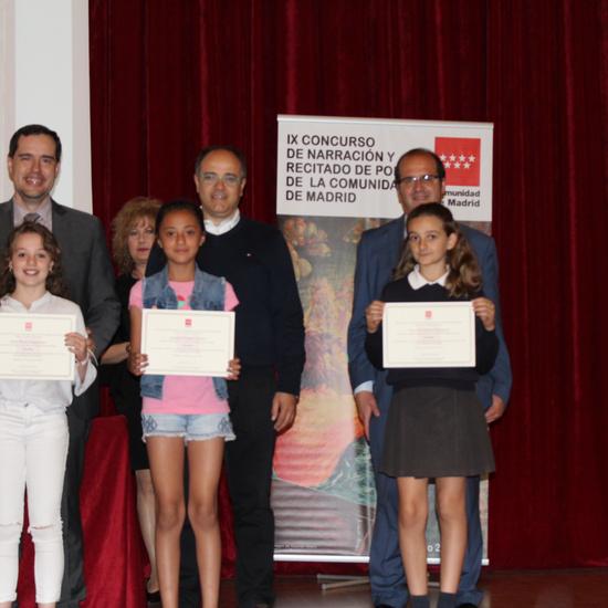 Entrega de los premios del IX Concurso de Narración y Recitado de Poesía 9