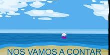 Viajando en cuarentena: sueños al pie de un arcoíris: CONTANDO CON LA GATITA Y EL LOBO.