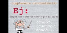 PRIMARIA - 6º - COMPLEMENTOS DEL PREDICADO - LENGUA