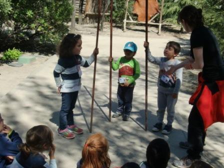Infantil 4 años en Arqueopinto 2ª parte 9