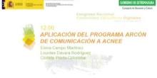 Aplicación del Programa Arcón de comunicación a ACNEE.
