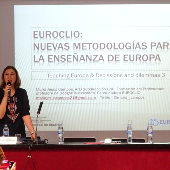 Curso Nuevas metodologías para la Enseñanza de Europa: ¡Esto no va de tratados! Jornada 9 de Junio. CTIF Madrid-Capital 1