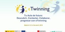 Tu aula de futuro: descubrir, contactar, colaborar, progresar con Etwining II