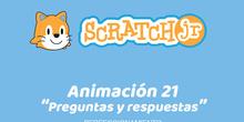 ScratchJr (Perfeccionamiento) 21-Preguntas y respuestas