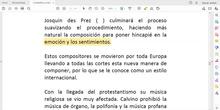 LECTURA-EXPLICACIÓN LA MÚSICA EN EL RENACIMIENTO PARTE 2