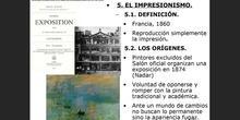 UD14. Artes plásticas en el S. XIX. Impresionismo y postimpresionismo