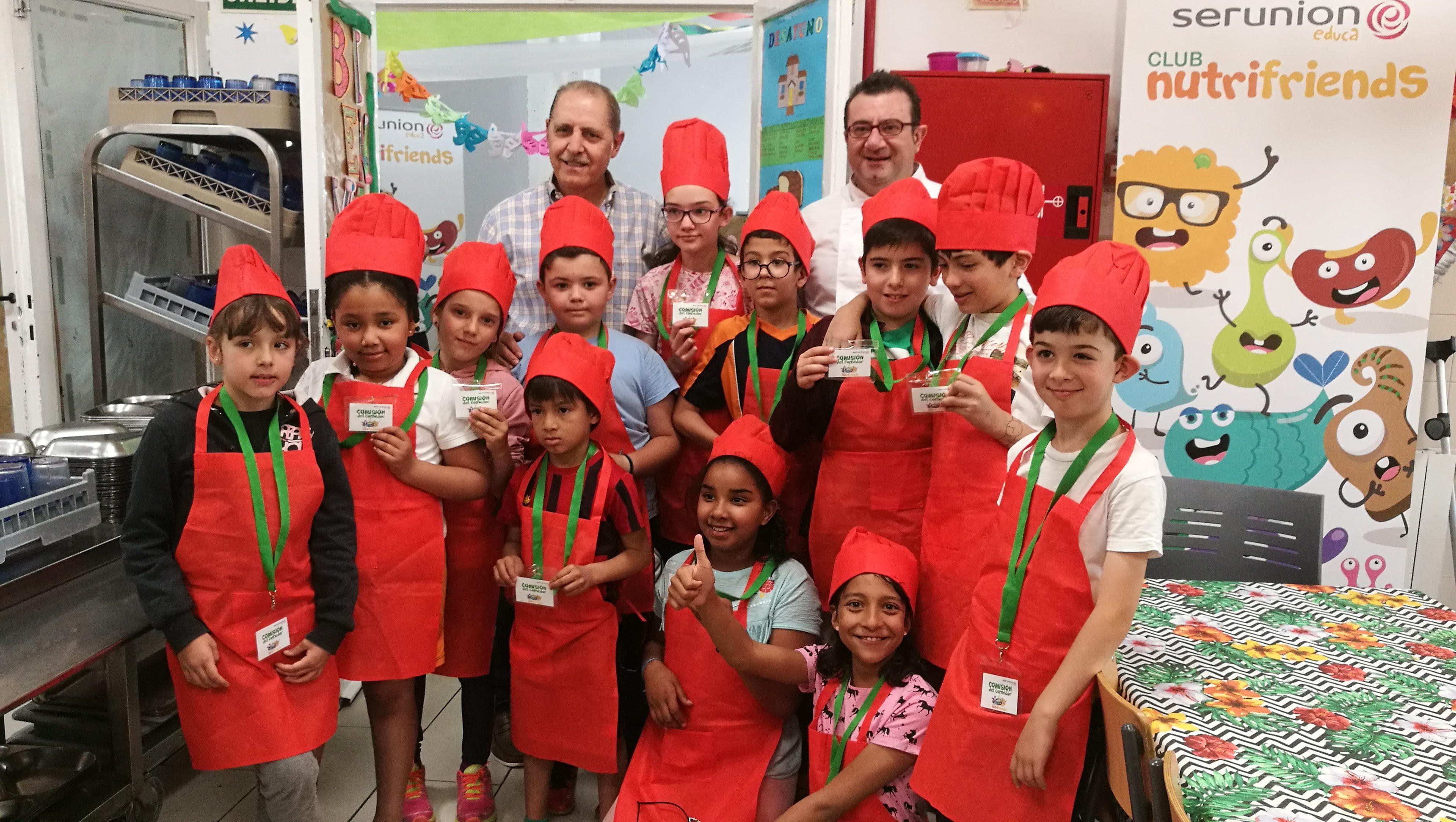 Visita del chef Sergio Fernández - Nutrifriends en el Comedor 7