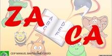 Palabras con Z y C. Tarjetas ortográficas.