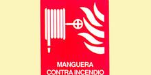 Incendio: manguera contra incendios cuadrada