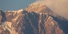 Acercamiento al Everest, visto desde Tengboche