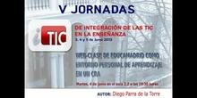 """Ponencia de D. Diego Parra de la Torre: """"Web-Clase de Educamadrid como entorno personal de aprendizaje"""""""