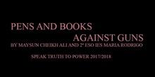 STTP_Maysun Cheikh Ali_Pens and books against guns