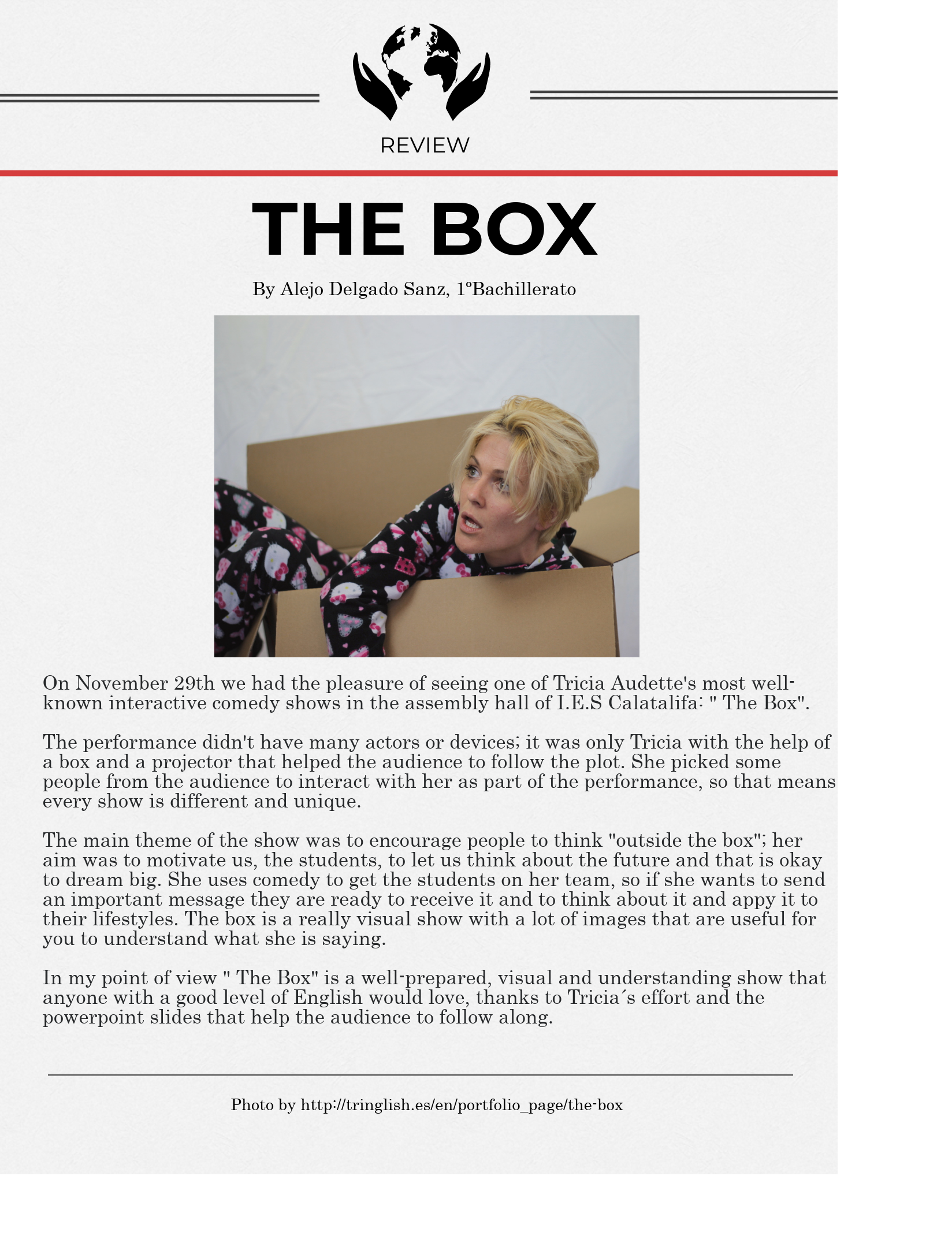 THE BOX - REVIEW