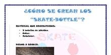 Skate bottle shoes