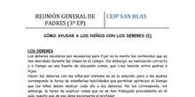 3º DE PRIMARIA - CÓMO AYUDAR A LOS NIÑOS CON LOS DEBERES