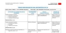 TABLAS SEMANALES 8-12 JUNIO