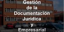 Presentación Gestión de la Documentación Jurídica y Empresarial