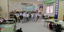 Día de la Paz 2021. Girasoles. CEIP GUERNICA