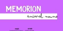 WBT - Memorion - Animal nouns