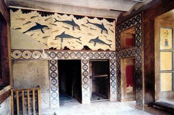 Megaron de la Reina en Cnosos, Creta