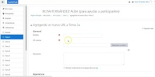 Aula Virtual de EducaMadrid, publicar lista de la Mediateca