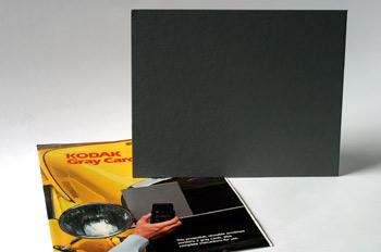 Tarjeta gris neutro Kodak