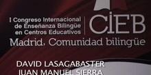 Mesa de comunicación: AICOLE y bilingüismo en el contexto educativo español
