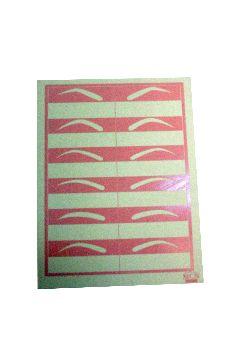 Plantillas para diseñar cejas