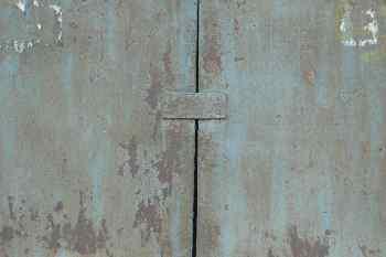 Chapa metálica gris