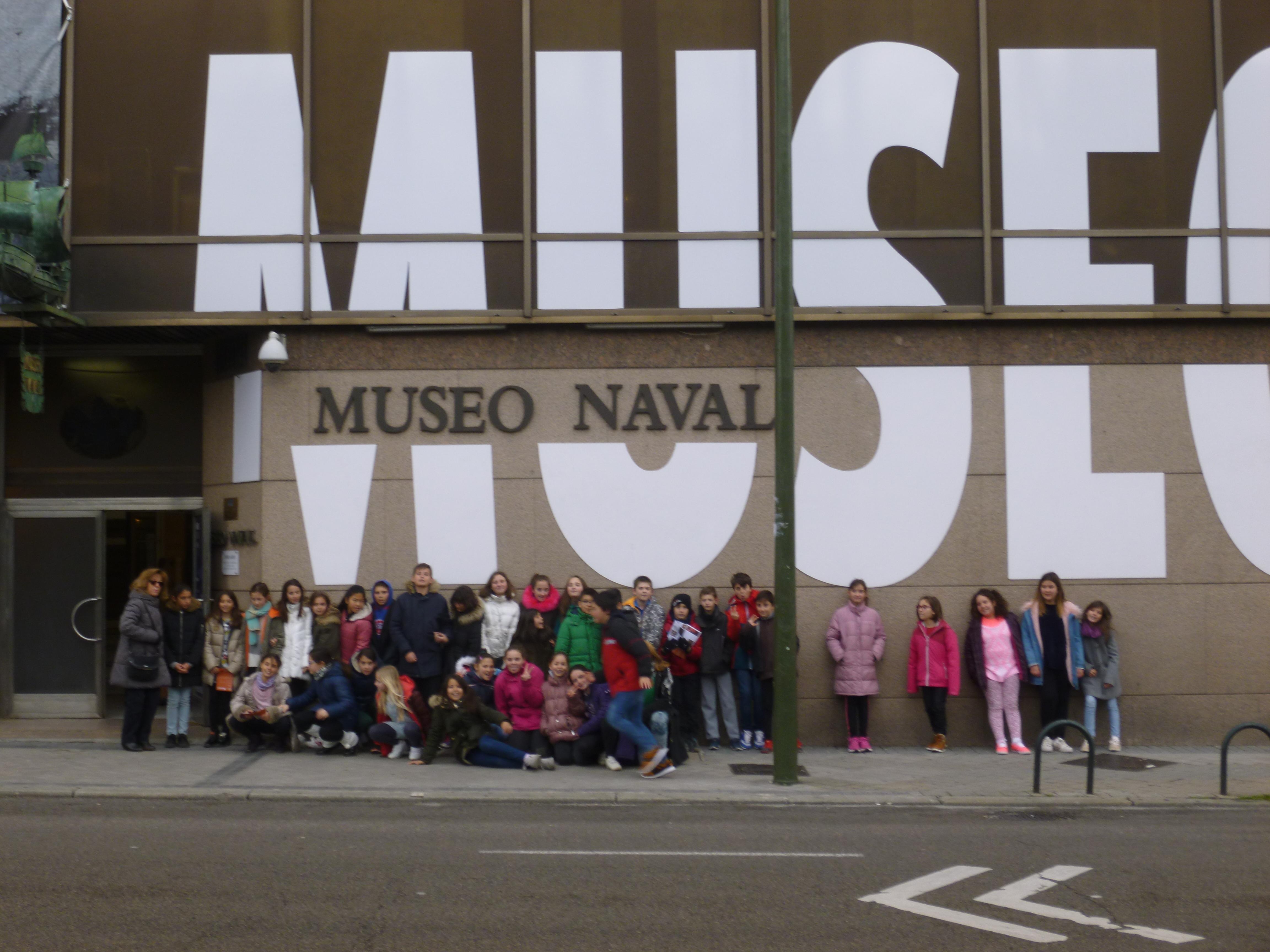 Visita por Madrid, Museo Naval 4