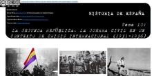 BLOQUE 10. La Segunda República y la Guerra Civil