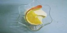 Presentación de copa de helado