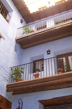 Patio del Mesón de la Dolores, Calatayud, Zaragoza