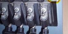 Regleta de separación de electrodos