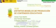 Mesa redonda: Distintos modelos de producción de contenidos educativos.