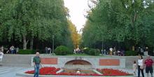 Paseo de México en el Parque del Retiro de Madrid