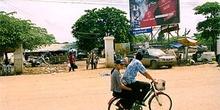 Publicidad thai en carretera de Camboya