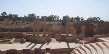 Teatro romano, Sbeitla, Túnez