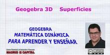 Geogebra 3D. Posibilidades. Realidad aumentada.