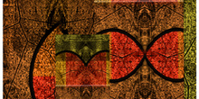 Imagen abstracta realizada digitalmente