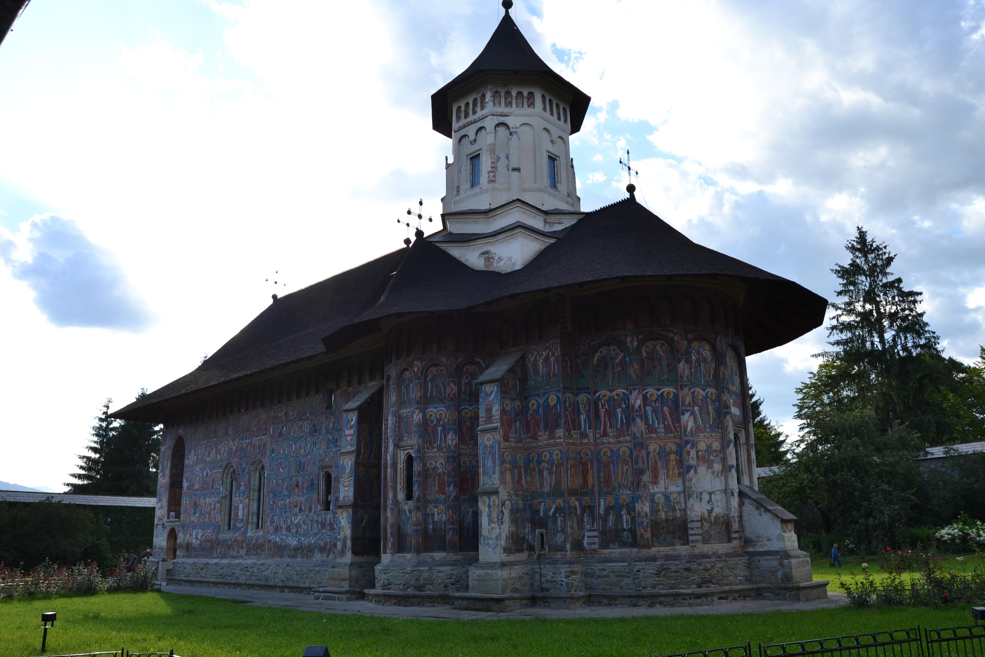 Monasterio de Moldovita. Iglesias pintadas de Bucovina. Rumania